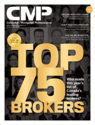 Canada's top 75 brokers