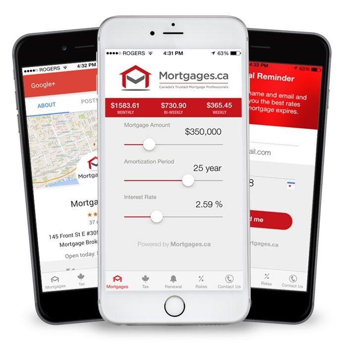 iphone App Mortgage Calculator